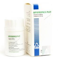 Виропак Плюс Viropack Plus (софосбувир 400мг + ледипасвир 90мг) №28