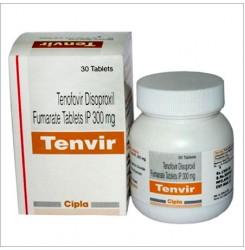 Тенвір Tenvir (тенофовір 300мг) №30