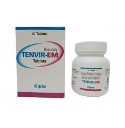 Тенвір-ЕМ Tenvir-EM (тенофовір 300мг, емтрицитабін 200мг) №30